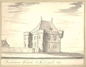 Harderwijk, de Latijnse school anno 1607