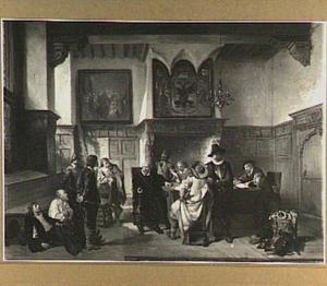 Een krijgsraad in de zeventiende eeuw