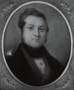 Portret van waarschijnlijk Johannes Gijsbertus Roering (1810-1856)