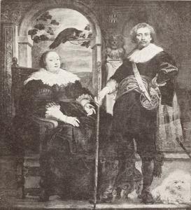 Dubbelportret van Govaert van Surpele (1593-1674) en Catharina Coninckx (?-?)