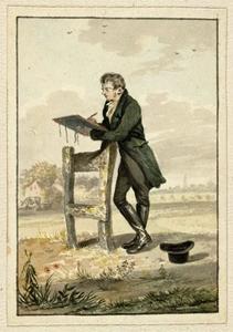 Portret van Joannes Pieter Visser Bender (1785-1813)