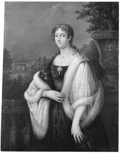 Portret van Clara Franciska Cornelia Maria von Cloots (1786-1817)