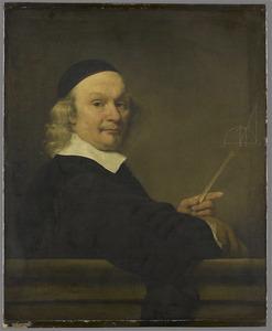 Portret van een wiskundige