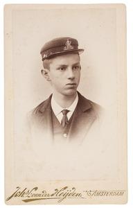 Portret van een jongen uit familie Ykema