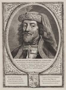 Portret van Willem III 'de Goede' van Henegouwen (1286-1337)