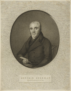 Portret van Hendrik Berkman (1753-1835)