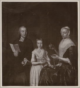 Portret van  de familie Jacob Dirk Wolterbeek (1749-1793)