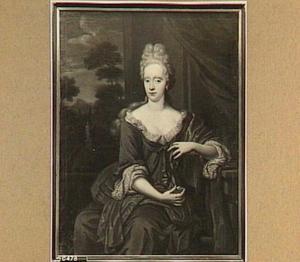 Portret van Anna Elisabeth Ripperda (1678-1733), echtgenote van Hillebrand Jacob Gruys