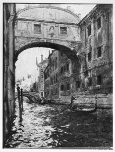 Brug der zuchten in Venetië