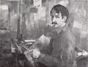 Portret van Johannes Maria Groenestein (1919-1971)