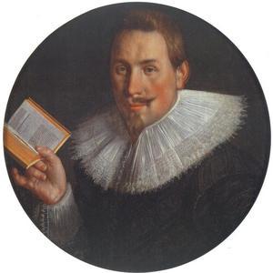 Portret van Johan Wtewael (1598-1652)