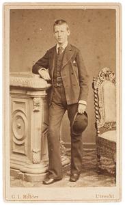 Portret van Andreas Jacobus van de Poll (1864-1885)