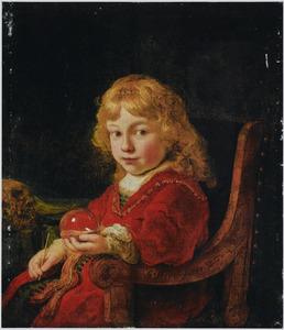 Portret van een onbekende jongen als 'Homo Bulla'