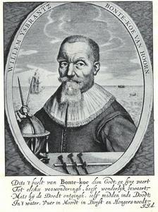 Portret van Willem IJsbrantsz. Bontekoe (1587-1657)