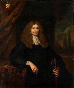 Portret van Cornelis Backer (1633-1681)