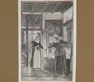 Hugo de Groot gevlucht uit slot Loevesteyn in een boekenkist in 1621