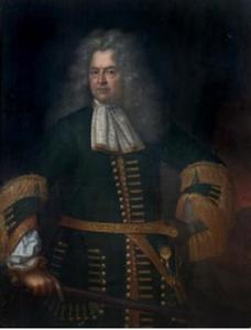 Portret van Johann Georg II,  prins van Anhalt-Dessau (1627-1693)