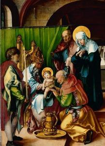 De besnijdenis van Christus in de tempel