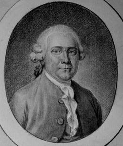 Portret van Pieter van Heynsbergen (1718- )
