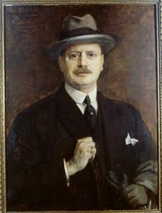Portret van Frans Beelaerts van Blokland (1872-1956)