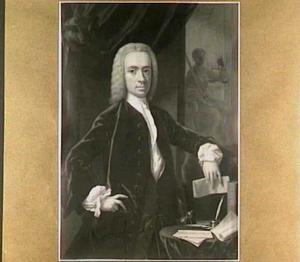 Portret van Willem Hendrik Dierkens (1711-1776)