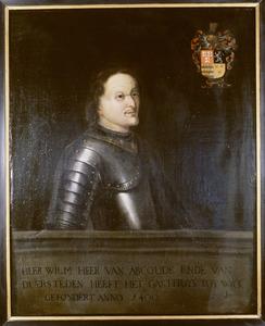Portret van Willem van Abcoude ( ....-1407)
