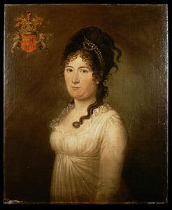 Portret van Elisabeth Jacoba van der Does (1770 -1824)