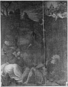 Christus in de hof van olijven (Matt. 26:36-45)