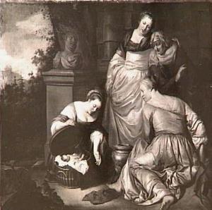 De dochters van Kekrops vinden Erechthonius