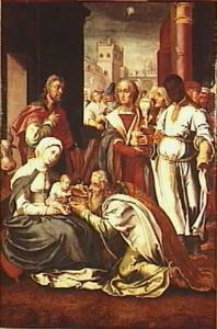 De aanbidding van de Wijzen (Mattheüs 2:1-12)