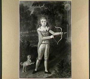 Portret van Willem Hendrik Jacob van Westreenen van Tiellandt als kind