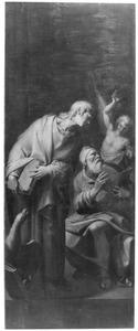 De evangelisten Johannes en Matthëus