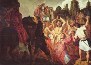 De steniging van de Heilige Stefanus
