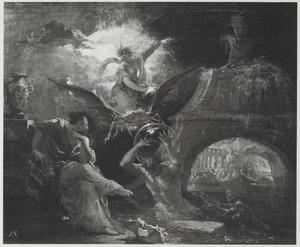 Apotheose van Ino en Melicertes, die in zeegoden veranderd zijn door Poseidon (Ovidius, Metamorfosen)