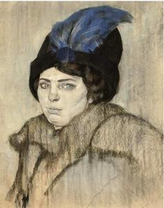 Portret van Marie Boendermaker-Schoenmakers (1882-1957)