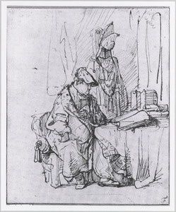Portret van Willem Bartolsz. Ruyter (1584-1639)