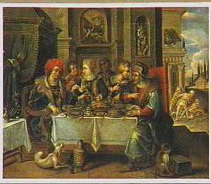 De gelijkenis van de rijke oude man en de arme Lazarus