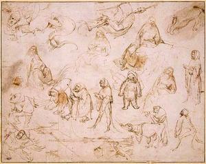 Studies voor een Verzoeking van de H.  Antonius Abt