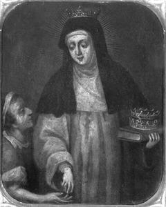 De H. Elisabeth van Hongarije met bedelaar