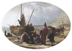 De roeping van Petrus en Andreas (Marcus 1:16-18)