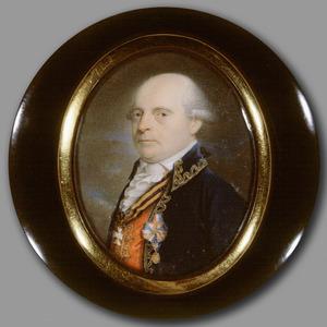 Portret van Jan Hendrik van Kinsbergen (1735-1819)