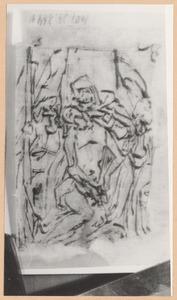 Pietà met twee treurende engelen