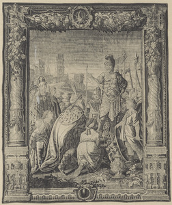 De overwinning van Marcus Antonius op de Parthen