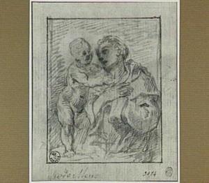 Sint Franciscus met het Christuskind