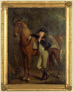 Portret van een man, mogelijk Nicolaas Calkoen (1753-1817)