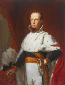 Portret van koning Willem I (1772-1842)