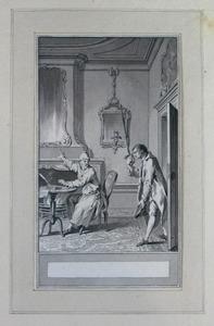 Illustratie bij 'De bedelaar' uit de Fabelen en vertelsels van F.C. Gellert