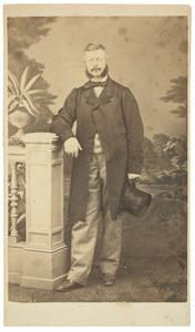 Portret van Justinus Egbert Hendrik van Nagell (1825-1901)