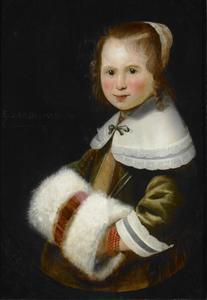 Portret van een meisje, 1650