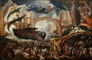 De Sibylle toont Aeneas de Onderwereld